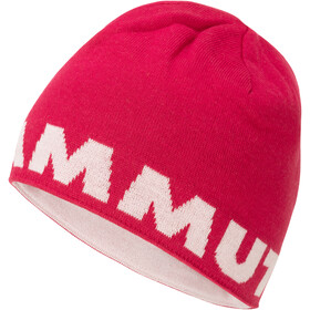 Mammut Logo Beanie Pipo, dragon fruit-blush